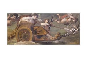 The Chariot of Venus, C.1622 by Pietro da Cortona