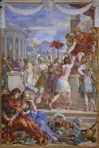 The Copper Age or Rather Soldiers Receiving Award for Capturing Prisoners by Pietro da Cortona