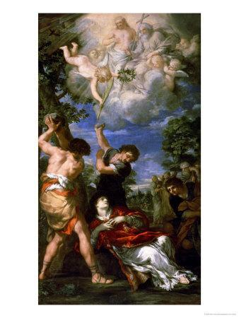The Martyrdom of Saint Stephen, 1660