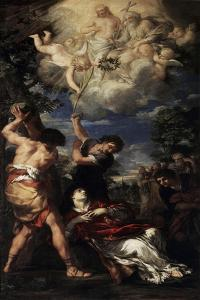 The Martyrdom of Saint Stephen, 1660 by Pietro da Cortona