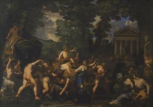 The Triumph of Bacchus by Pietro da Cortona