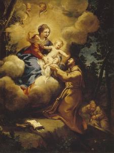 The Vision of Saint Francis, 1640S by Pietro da Cortona