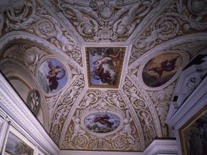 Vault of Chapel, Frescoes by Pietro da Cortona