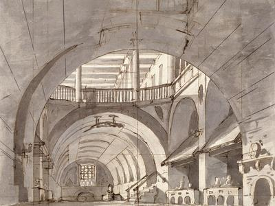 Stage Design for a Theatre Play, 1800S