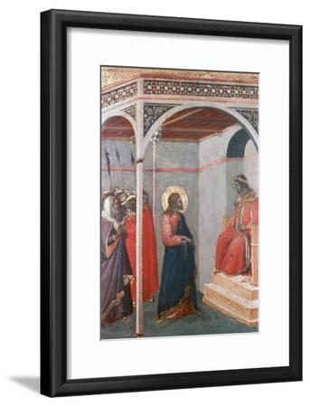 Christ before Pilate, C1306-1348