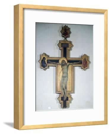 Painted Crucifix