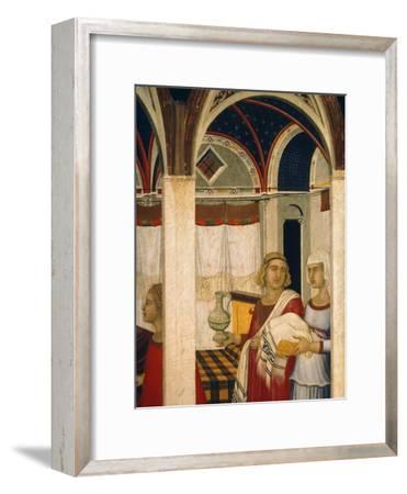 Triptych of Nativity of Virgin