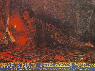 Poster for Parisina, Opera