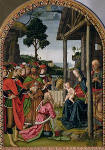 Adoration of the Magi, c.1476 by Pietro Perugino