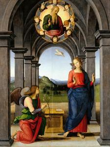 Annunciation by Pietro Perugino