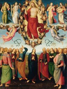 Ascension by Pietro Perugino