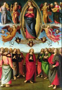 Assumption of the Virgin, 1506 by Pietro Perugino