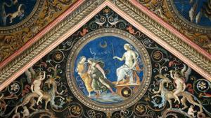 Ceiling by Pietro Perugino