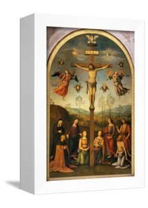 Crucifixion by Pietro Perugino