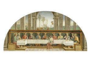 Last Supper by Pietro Perugino