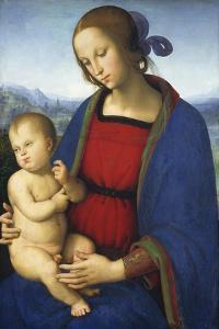 Madonna and Child, C.1500 by Pietro Perugino