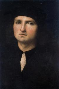Portrait of a Young Man 1495-1500 by Pietro Perugino