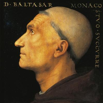 Portrait of Monk Balthazar of Vallombrosa Abbey