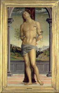 Saint Sebastian by Pietro Perugino