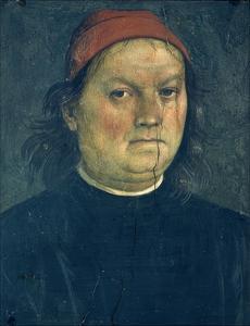 Self-Portrait, Circa 1500 by Pietro Perugino