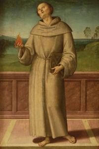 St. Anthony of Padua by Pietro Perugino