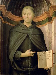 St. Nicholas of Tolentino by Pietro Perugino