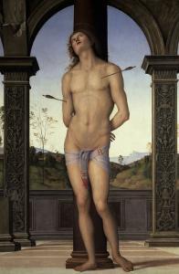 St. Sebastian, 15th century by Pietro Perugino