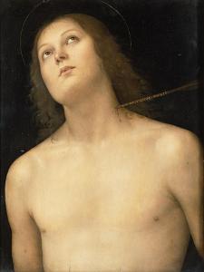 St. Sebastian, c.1495 by Pietro Perugino