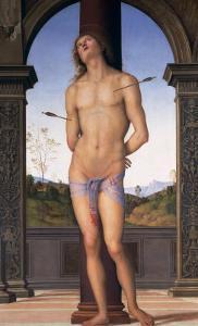 St. Sebastian by Pietro Perugino