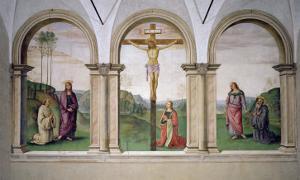The Crucifixion, 1494-96 by Pietro Perugino