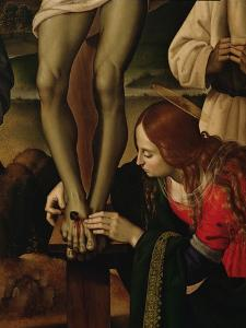 The Crucifixion with Saints, c.1480-1500 by Pietro Perugino