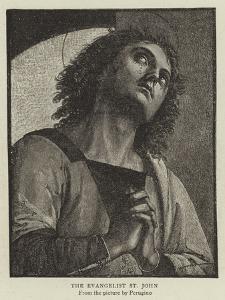 The Evangelist St John by Pietro Perugino