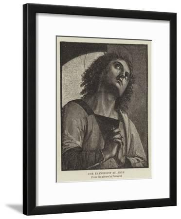 The Evangelist St John