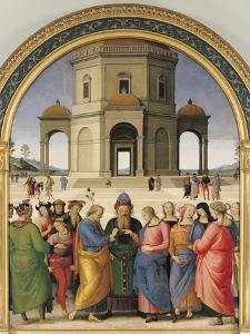 The Marriage of the Virgin, 1500-04 by Pietro Perugino