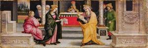 The Presentation in the Temple, C.1510 by Pietro Perugino