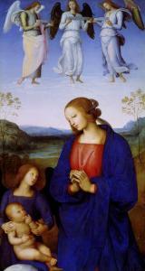 The Virgin and Child by Pietro Perugino