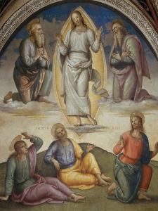Transfiguration by Pietro Perugino