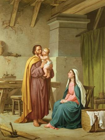 The Holy Family in St Joseph's Workshop