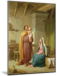 The Holy Family in St Joseph's Workshop by Pietro Pezzati
