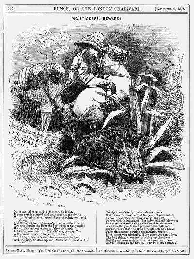 Pig-Stickers, Beware!, 1878-Edward Linley Sambourne-Giclee Print