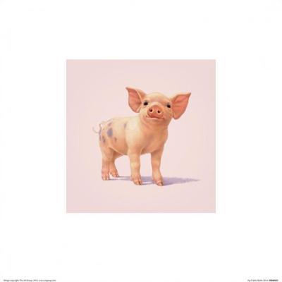 Pig-John Butler Art-Art Print
