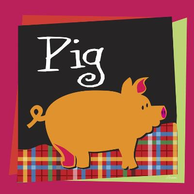 Pig-Michelle Glennon-Giclee Print