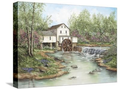 Pigeon Hollow Mill-Sherry Masters-Stretched Canvas Print