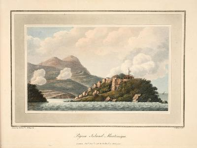 Pigeon Island, Martinique, Illustration from 'An Account of the Campaign in the West Indies' by…-Cooper Willyams-Giclee Print