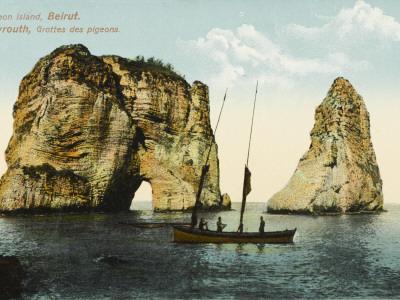 Pigeon Island, Off the Coast of Beirut, Lebanon--Photographic Print