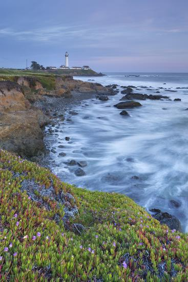 Pigeon Point Lighthouse, Cabrillo Highway 1, California, Usa-Rainer Mirau-Photographic Print