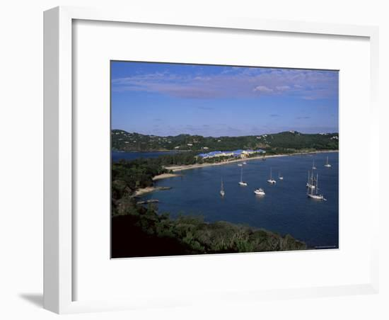 Pigeon Point, Rodney Bay, St. Lucia, Windward Islands, West Indies, Caribbean, Central America-Yadid Levy-Framed Photographic Print