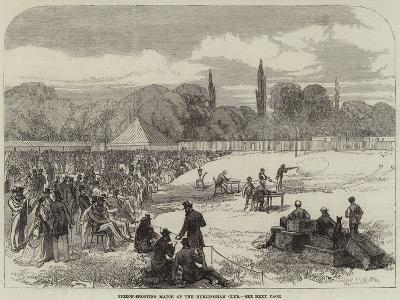 Pigeon-Shooting Match of the Hurlingham Club--Giclee Print