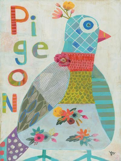 Pigeon-Julie Beyer-Art Print