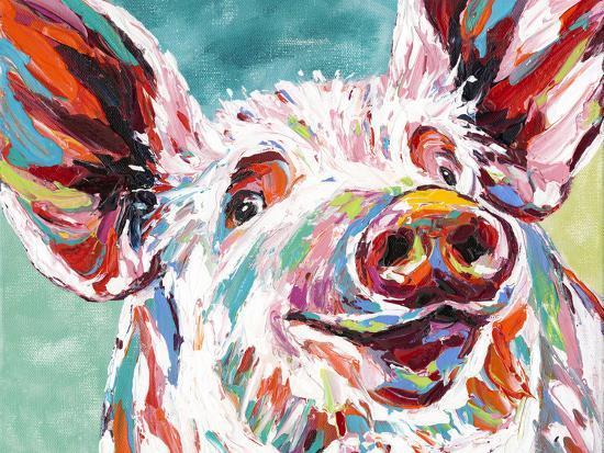 Piggy I-Carolee Vitaletti-Art Print